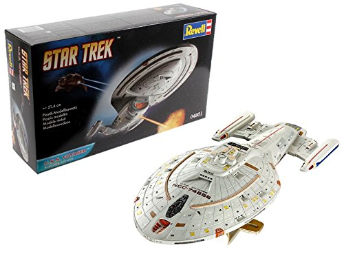 (Revell U.S.S. Voyager (Star Trek) Model Kit, 1:670 Scale, 51.4 cm)