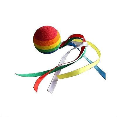 ygmoner Coloured Ribbon Ball Car Antenna Topper - Antenna Ball: Automotive