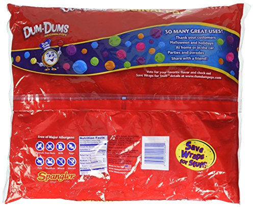 Dum Dum Pops 180 ct bag - assorted flavors by Dum Dums (Image #3)