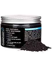 Activated Charcoal Teeth Whitening Powder 50g | Whitens and Cleans | Gentle on Gums, No Bleaching | Natural Coconut Shell Formula | Freshens Breath