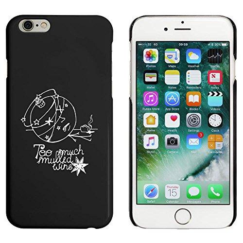 Schwarz 'Weihnachtskugel' Hülle für iPhone 6 u. 6s (MC00024285)