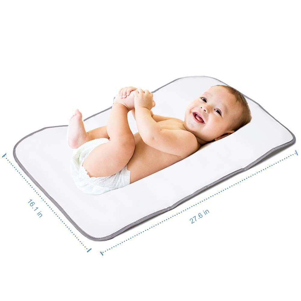 Grey Lekebaby Foldable Travel Changing Mat Portable Baby Change Mat