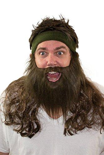 The Abominable Mulletman Wig & Beard (Halloween Costumes Redneck)