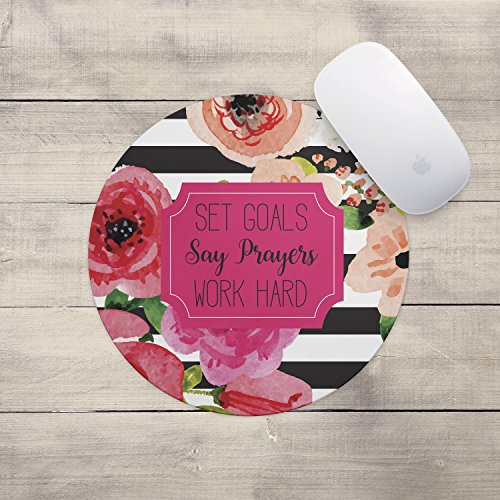 say-prayers-floral-mouse-pad-neoprene-inspirational-quote-mousepad-office-space-decor-home-office-co