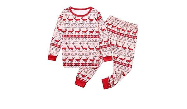 Pijama de Navidad para Mujer y Hombre, diseño de Ciervos de ...