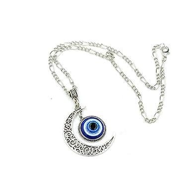 Amazon.com: Darkey Wang - Collar con colgante de ojos de ...