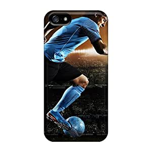 Protector Cell-phone Hard Covers For Iphone 5/5s With Custom Stylish Lionel Messi Series MarieFrancePitre