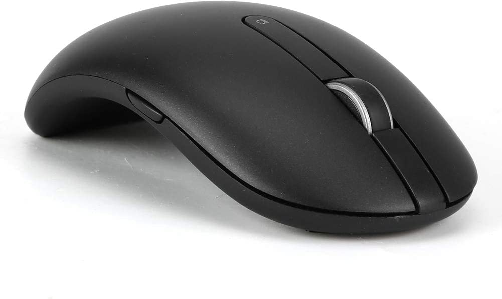 Tosuny Mouse inalámbrico Bluetooth, para DELL WM527 Mouse inalámbrico Bluetooth de Cinco Botones Mouse ergonómico con Forma de Arco de 1600 dpi, para Mejorar la eficiencia del Trabajo