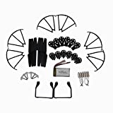 AVAWO MJX X600 Quadcopter Spare Parts Crash Pack Kit Replacement, Main Blade Propellers & Motor & Propeller Protectors Blades Frame & Landing Skid & Battery & Main Gears Set & Motor Base