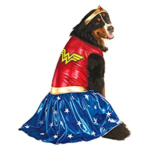 Rubie's Big Dogs Wonder Woman Dog Costume