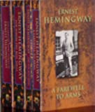img - for Ernest Hemingway: Quality Paperback Book Club 4-volume Set, 1993 (Ernest Hemingway, The Sun Also Rises (Vol. I); A Farewell to Arms (Vol. II); For Whom the Bell Tolls (Vol. III); The Complete Short Stories (Vol. IV)) book / textbook / text book