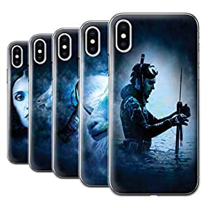 STUFF4 Phone Case / Cover for Apple iPhone X/10 / Pack 12pcs / Zodiac Star Sign Collection
