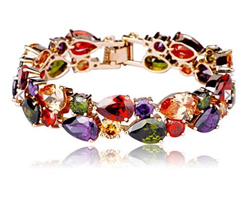 Mondaynoon-Christmas-Gift-Jewelry-Set-Mona-Lisa-Charm-Braceletsbangle-and-Necklace-for-Women-Girl
