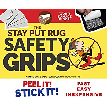 Amazon Com Stay Put Rug Non Slip Safety Grips Keeps Rugs