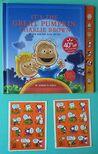 It's The Great Pumpkin Charlie Brown Sound & Music Book and Sticker (Halloween Themed Sheet Music)