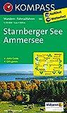 Starnberger See, Ammersee 1 : 50 000 (KOMPASS-Wanderkarten, Band 180)