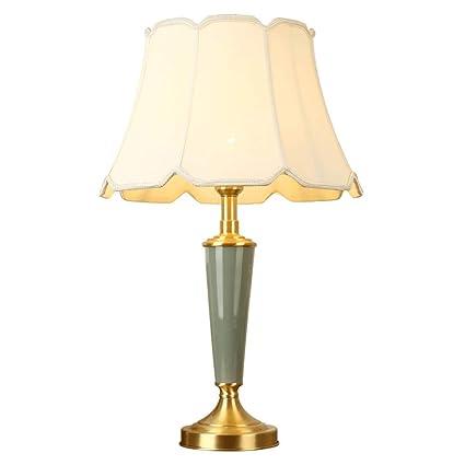 GLP Lámpara de Mesa de cerámica Cobre Sala de Estar ...