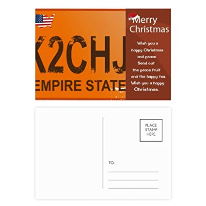 Amazon com : Car Licence USA American Number Pattern