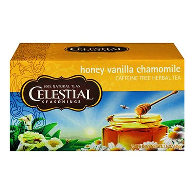 herbal tea caffeine honey vanilla