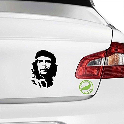Che Guevara Decal Sticker (black, 5 inch)