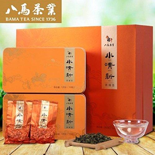 Bama tea Qing xiang Tikuanyin tea Anxi Tieguanyin tea 252g八马茶业 小清新2号铁观音礼盒 by Yichang Yaxian Food LTD.
