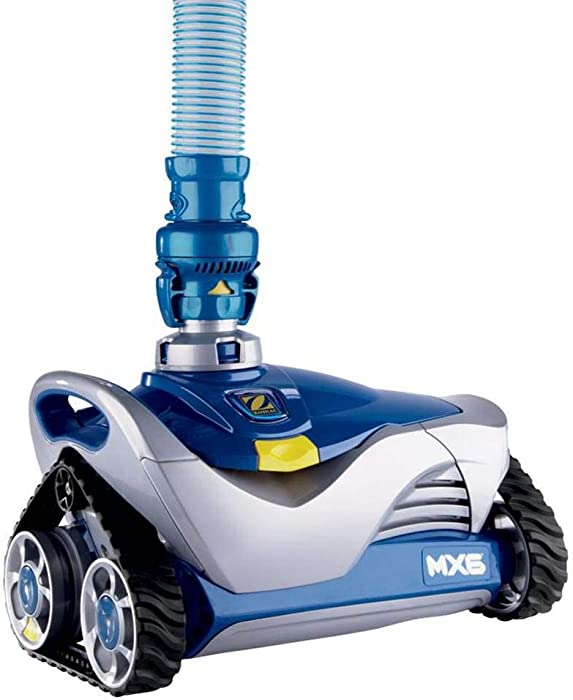 Zodiac MX6 In-Ground Suction Side Pool Cleaner, Blue/Gray