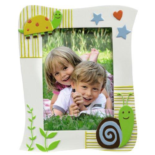 Hama Kinder Portrait Bilderrahmen Leni (Fotogröße 10 x 15 cm, Rahmen 17 x 21 cm) bunt