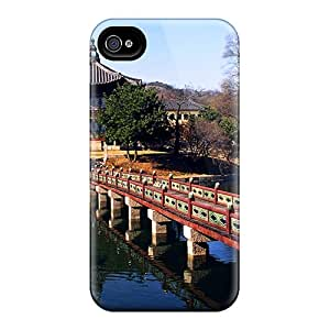 Fashion Tpu Case For Iphone 4/4s- Puente Defender Case Cover