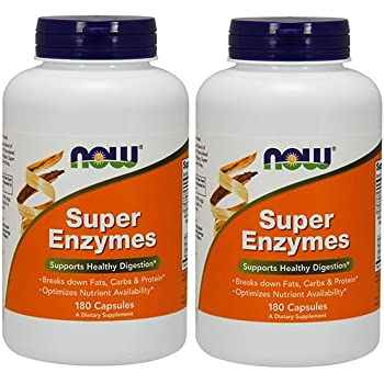 Amazon.com: Now Foods, Plant Enzymes, 120 Count: Health & Personal Care