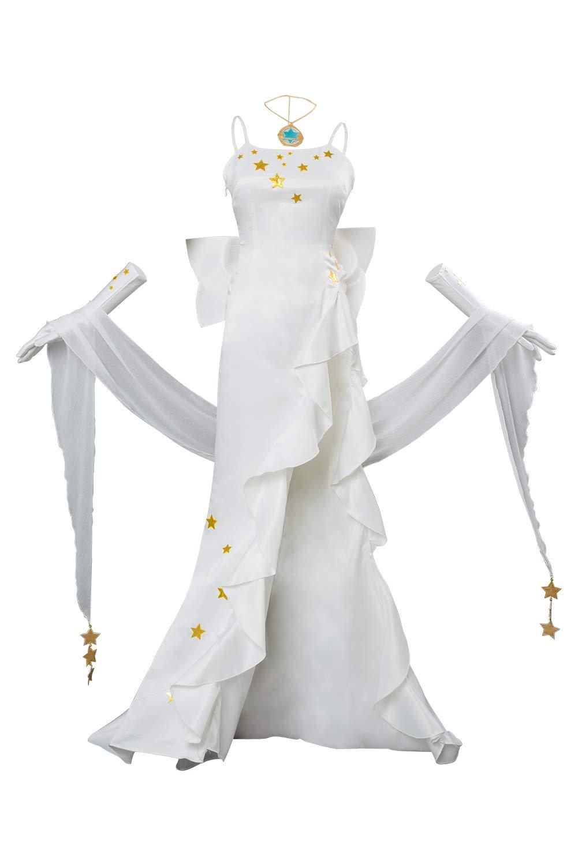 rotJade Fate Grand Order Leonardo da Vinci Cosplay Kostüm Weiß Gown Damen S B07PXWF874 Kostüme für Erwachsene Qualitätskönigin     | Spielen Sie Leidenschaft, spielen Sie die Ernte, spielen Sie die Welt