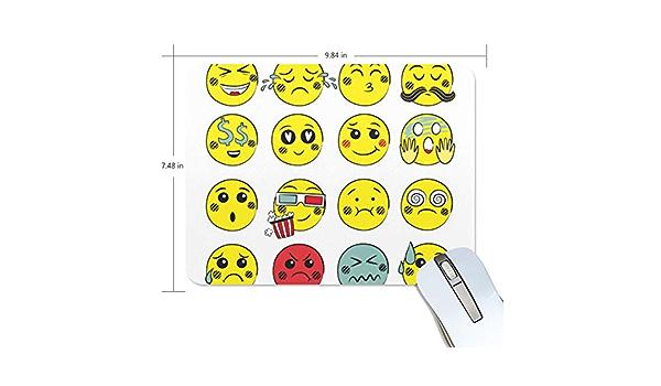 Montoj Gaming Mouse Pad Emoji Face Emotions computadora ...