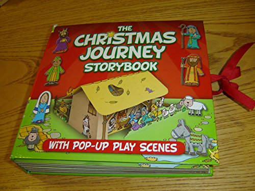 The Christmas Journey Storybook - With Pop-Up Play Scenes / Follow Mary and Joseph to Bethlehem / 2014 Edition
