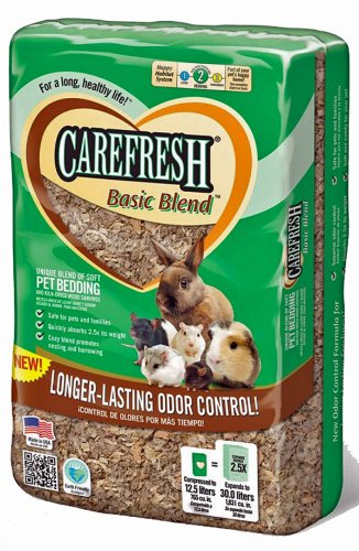 Carefresh Absorbtion Corp Basic Blend Soft Pet Bedding, expands to 30-Liters by Carefresh