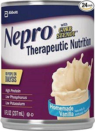 Nepro Liquid Nutrition  Homemade Vanilla  8 Ounce Case Of 24 Cans