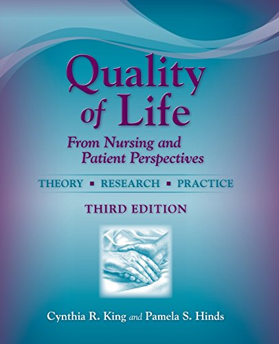 Quality Of Life: From Nursing And Patient Perspectives by Brand: Jones Bartlett Learning
