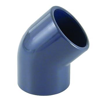 PVC U 45/° Winkel Muffe 40 mm PN16