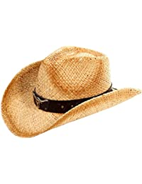6e1e494237c19 Men s   Women s Western Style Cowboy Cowgirl Straw Hat