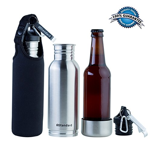Bottle Cooler Insulated Carrier Stainless product image