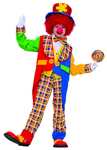 Infant/toddler Costumes For Cheap (Forum Novelties Child's Value Clown Costume)