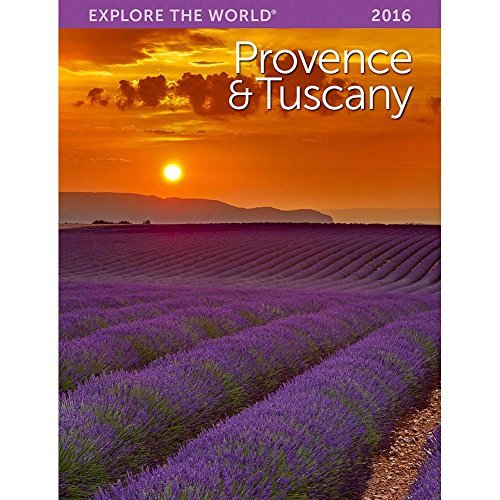 2016 Provence and Tuscany Softcover Weekly Planner by Ziga