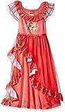 Disney Big Girls' Elena of Avalor Fantasy Nightgown, Elena Red, 8