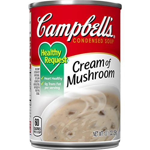 Campbell's Healthy Request Condensed Soup, Cream of Mushroom, 10.5 Ounce (Pack of 12)