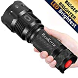 Torch LED Torch S1600 Super Bright Powerful Lumens Torches Zoomable Adjustable Focus Waterproof Tactical Military Flashlight for Powerful Camping and Emergency Flashl