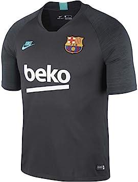 NIKE Breathe FC Barcelona Strike Camiseta, Hombre, dk Smoke Grey/Dark Grey/Cabana, M: Amazon.es: Deportes y aire libre