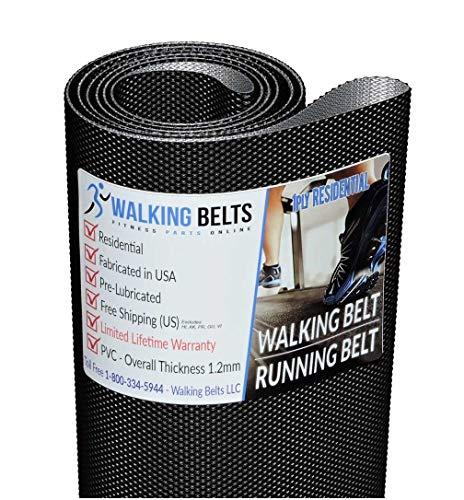 WALKINGBELTS Walking Belts LLC - Trimline 3610.1E Treadmill Walking Belt 1ply + Free 1oz Lube