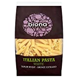 Biona Organic Bronze Extruded White Penne (500g) - Pack of 6