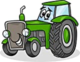 Tractor Edible Icing Image for 1/4 sheet cake