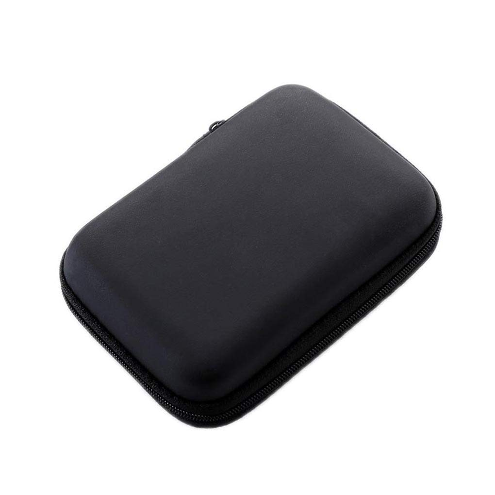Censhaorme Disque Dur 2.5 Sac USB de Disque Dur Externe Carry Mini C/âble USB Housse Etui /écouteurs Sac PC Portable Hard Case Disque