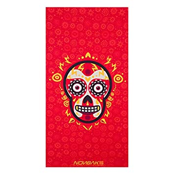 Yucatan Red micro-algodón, Toalla deportes /color rojo intenso/ 70x140: Amazon.es: Deportes y aire libre