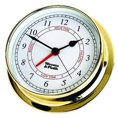 Weems & Plath Endurance Collection 125 Time and Tide Clock (Brass)